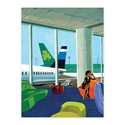 AERLINGUS TAILFIN POSTER