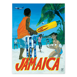 KINGSTON, JAMAICA  POSTER