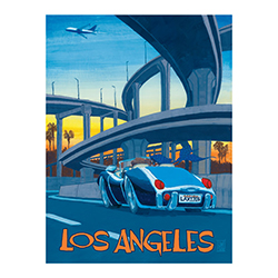 LOS ANGELES, CA POSTER