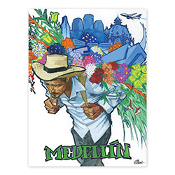 MEDELLIN, COLOMBIA POSTER