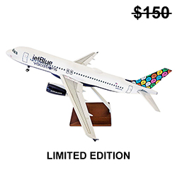 A320 Vacations Livery Model Plane - 1:100 (1PC)