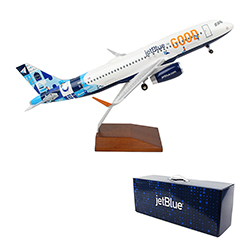 A320 JetBlue for Good Livery Model Plane - 1:100