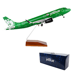 A320 Boston Celtics Livery Model Plane - 1:100