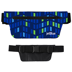 JETBLUE FLAT FANNY PACK