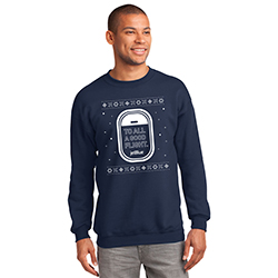 JETBLUE HOLIDAY SWEATSHIRT