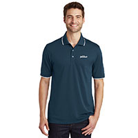 MEN'S UV MICRO MESH TIPPED POLO