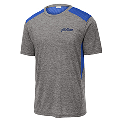 MENS TRI-BLEND WICKING DRAFT TEE