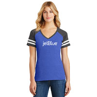 DISTRICT WOMEN'S GAME VNECK TEE
