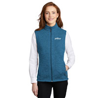 LADIES' SWEATER FLEECE VEST