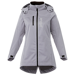 LADIES BERGAMO SOFTSHELL JACKET