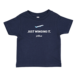 JUST WINGING IT TODDLER  TEE