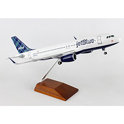 JETBLUE A320 1:100 SCALE TARTAN MODEL PLANE