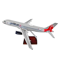 A320 BOSTON RED SOX LIVERY MODEL PLANE 1:100 SCALE