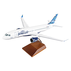 A220-300 DAWNING OF A BLUE ERA 1:100  MODEL